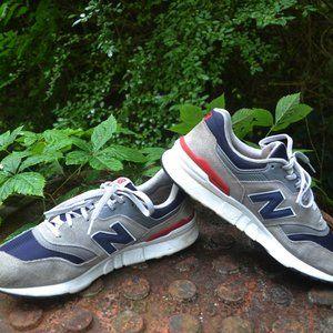 New Balance 997h Grey/Navy Blue Men Size 12